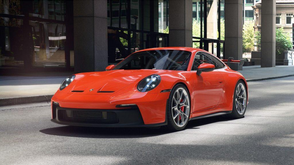 2022 Porsche 911 GT3 in Lava Orange