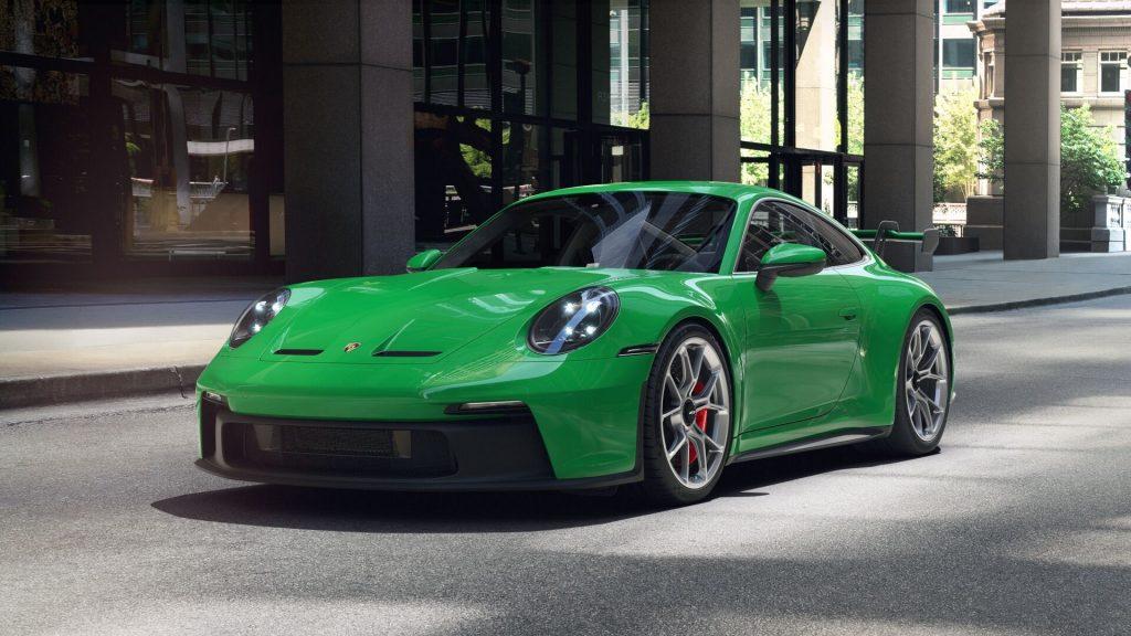 2022 Porsche 911 GT3 in Python Green