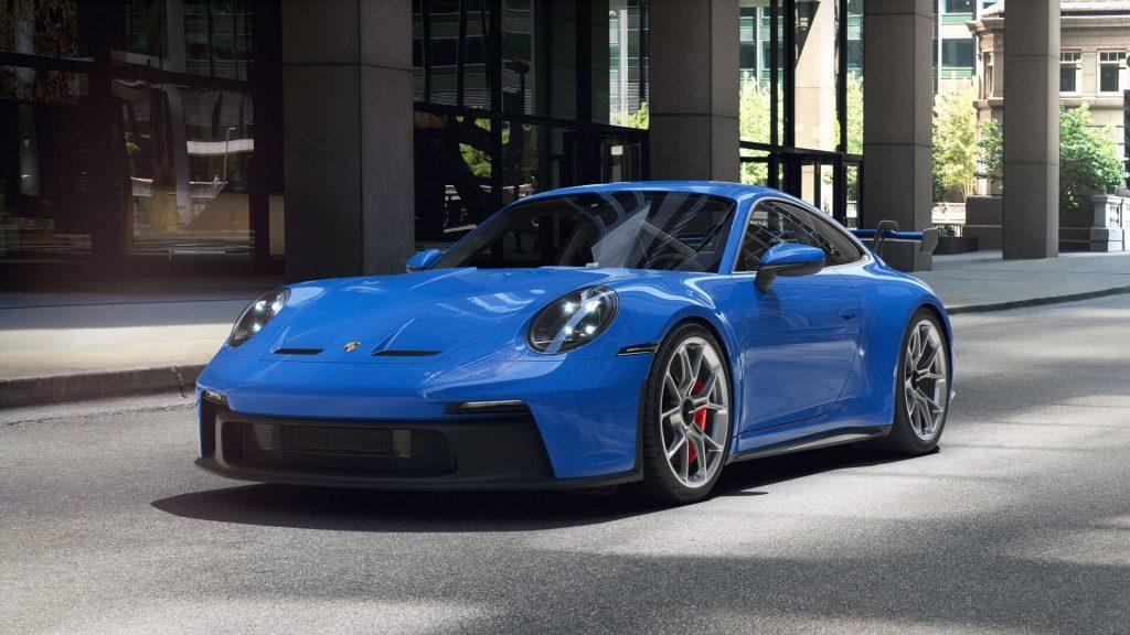 2022 Porsche 911 GT3 in Shark Blue