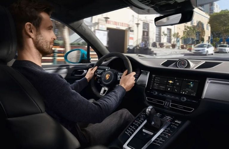 2021 Porsche Macan Interior and Cabin View