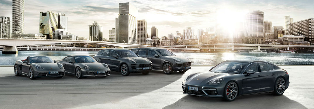 Welcome to the Porsche Delaware Blog with an image of the 2018 Porsche model lineup