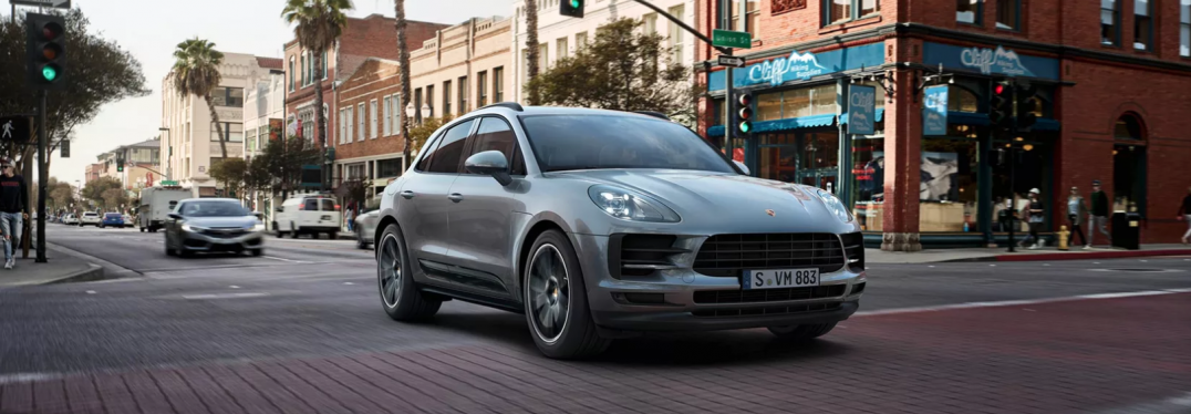 exterior front of the 2019 Porsche Macan