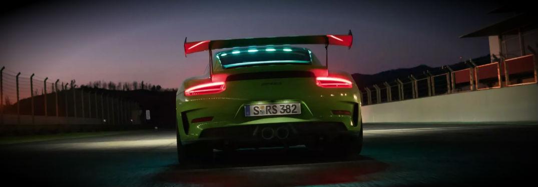 2019 Porsche 911 GT3 Exterior Rear Track