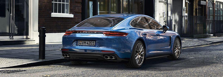 exterior rear of the 2019 Porsche Panamera