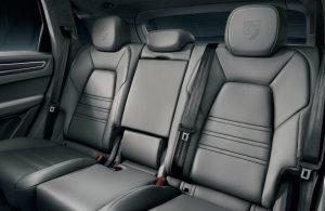 2019 Porsche Cayenne rear seats