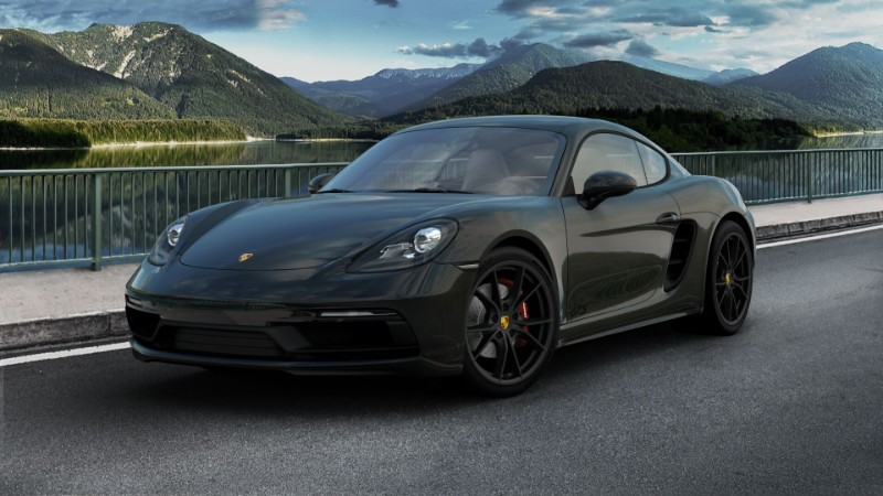 2019 Porsche 718 Cayman GTS Exterior Color Options