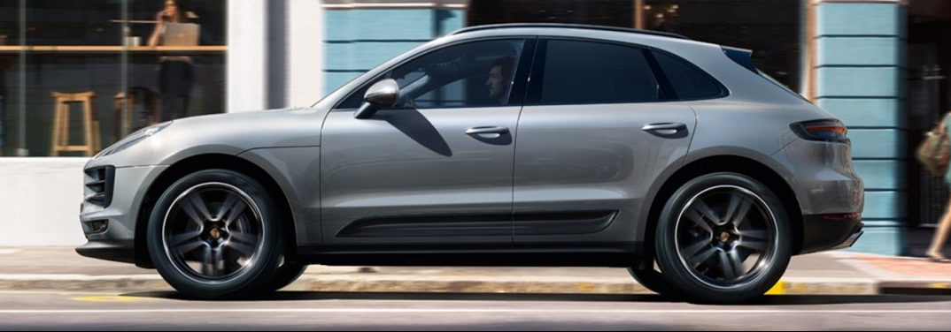 2019 Porsche Macan profile view