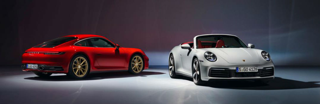 2020 Porsche 911 Carrera Coupe and Cabriolet