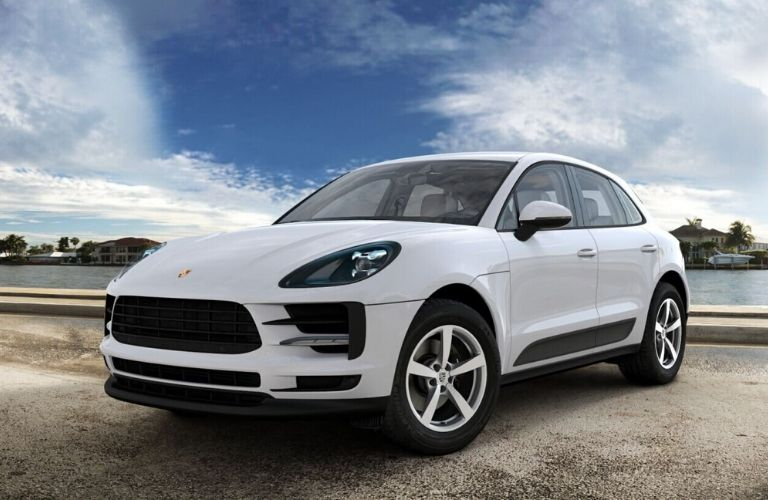 2020 Porsche Macan Carrara White Metallic Exterior Color Option