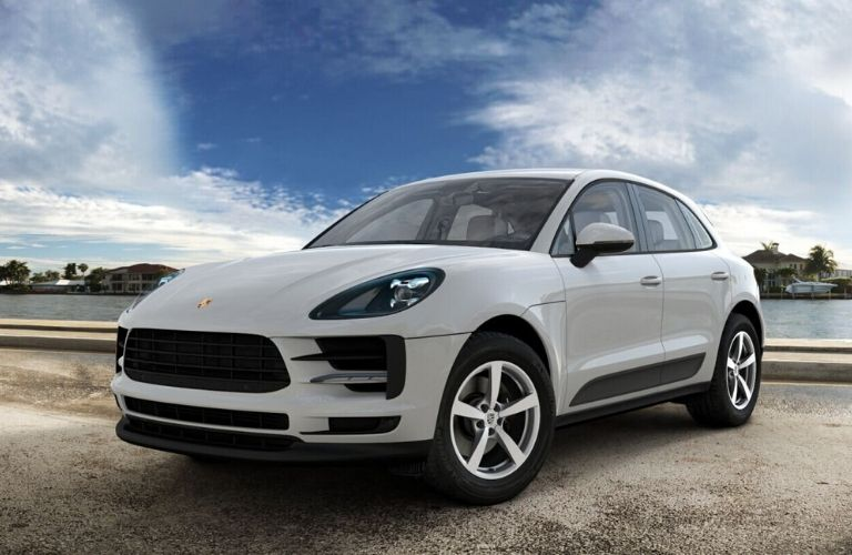 2020 Porsche Macan Chalk Exterior Color Option