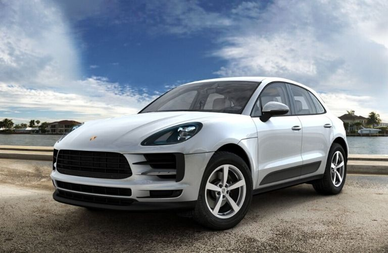 2020 Porsche Macan Dolomite Silver Metallic Exterior Color Option