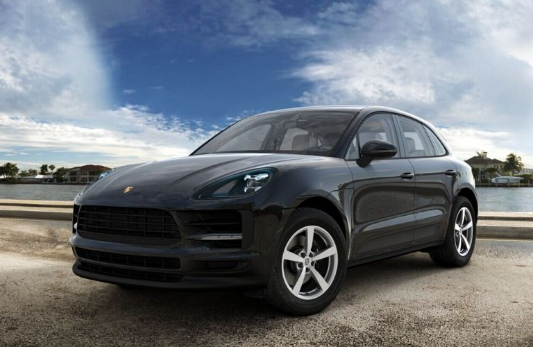 2020 Porsche Macan Jet Black Metallic Exterior Color Option