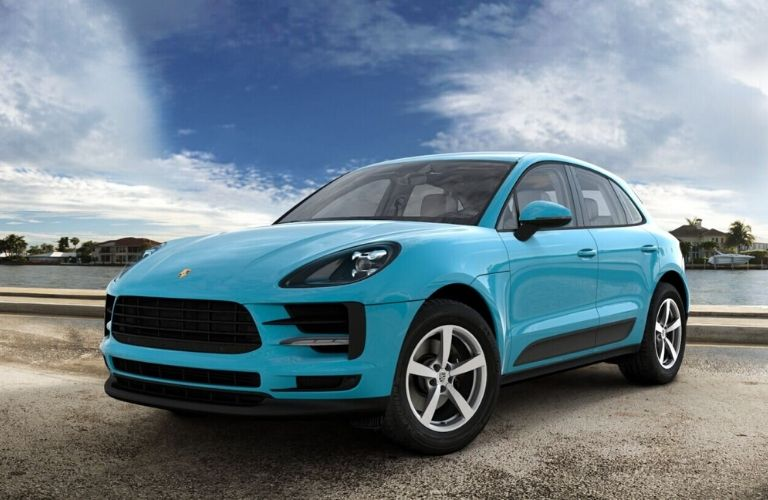 2020 Porsche Macan Miami Blue Exterior Color Option