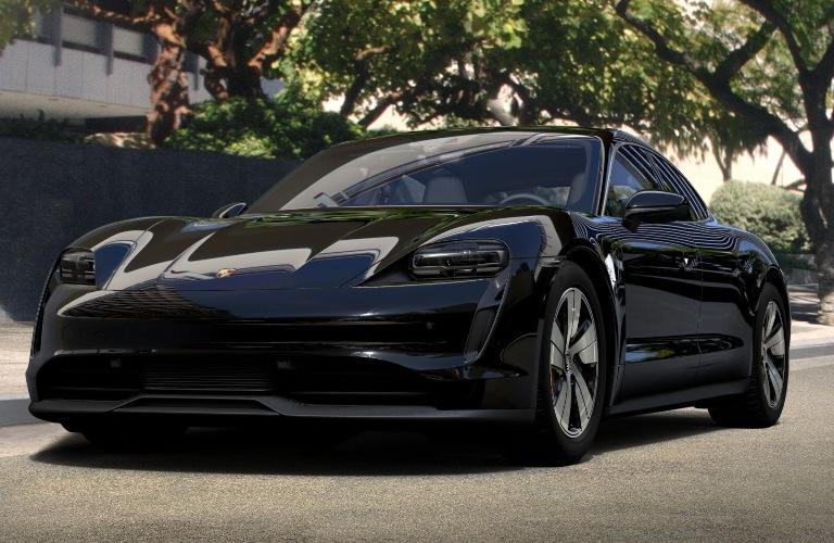 2020 Porsche Taycan Black