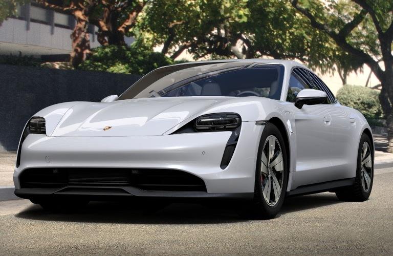 2020 Porsche Taycan Carrara White