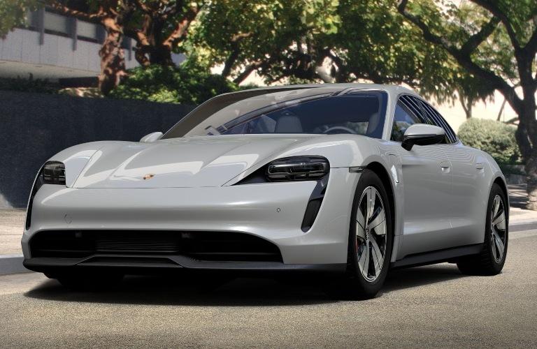 2020 Porsche Taycan Chalk