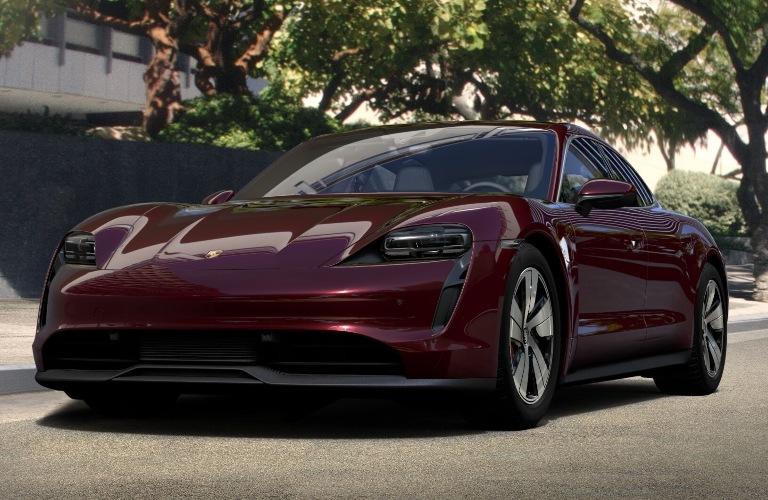 2020 Porsche Taycan Cherry