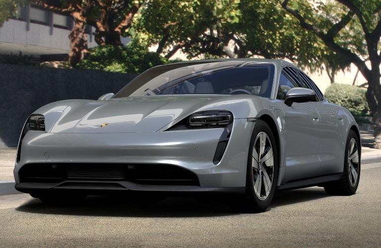 2020 Porsche Taycan Dolomite Silver