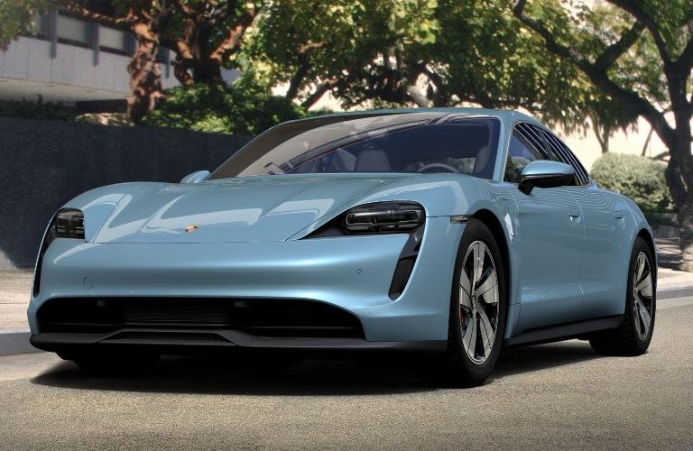 2020 Porsche Taycan Frozen Blue