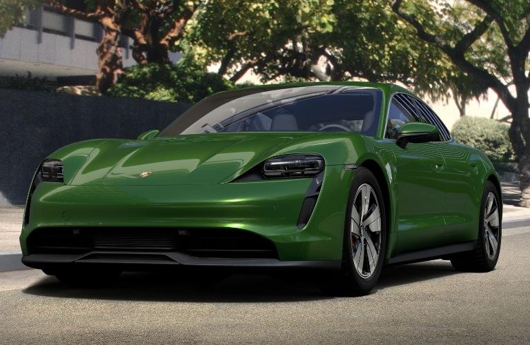 2020 Porsche Taycan Mamba Green