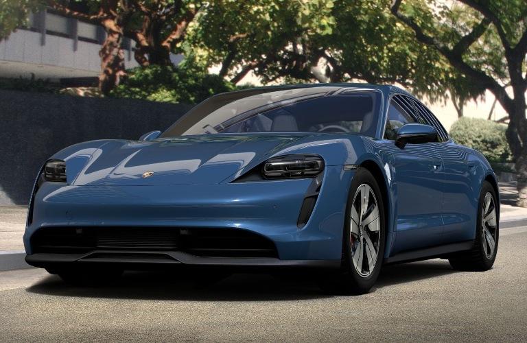 2020 Porsche Taycan Neptune Blue