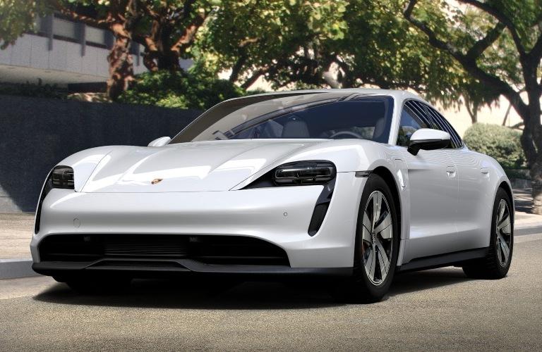 2020 Porsche Taycan White