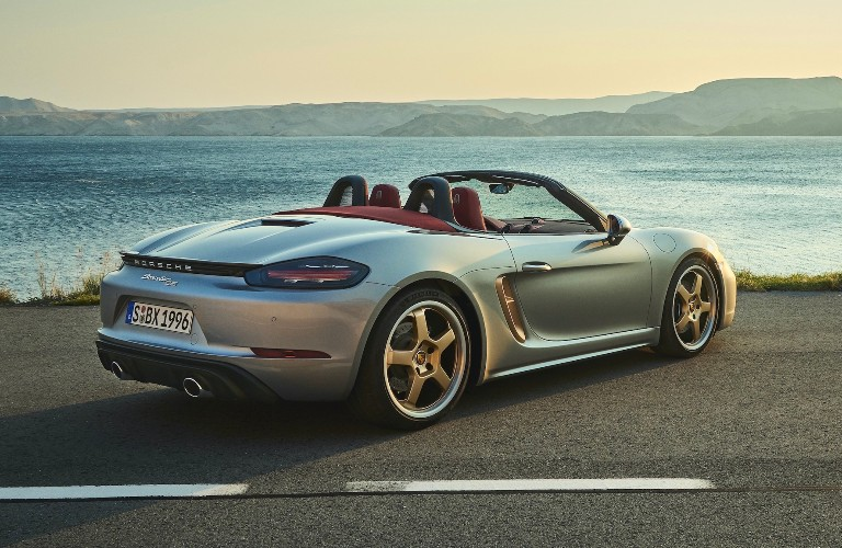 2021 Porsche Boxster 25 years back end