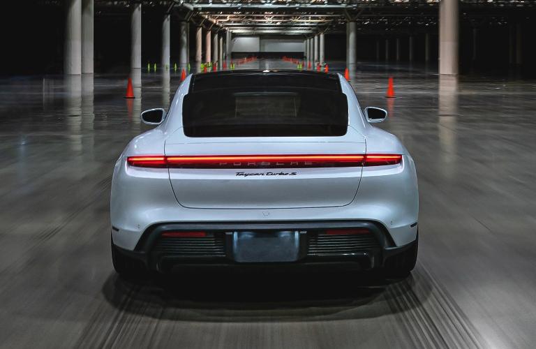 2021 Porsche Taycan back end