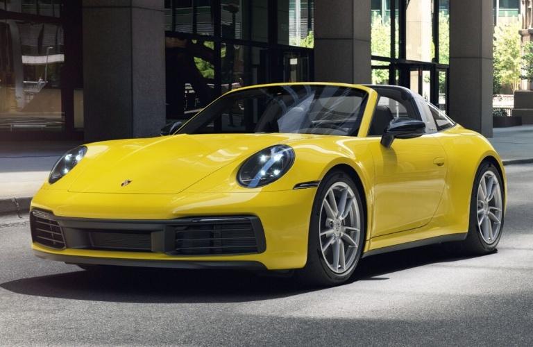 2021 Porsche 911 Targa 4 Racing Yellow