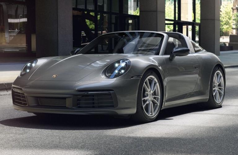 2021 Porsche 911 Targa 4 Agate Grey Metallic