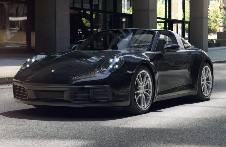 2021 Porsche 911 Targa 4 Black