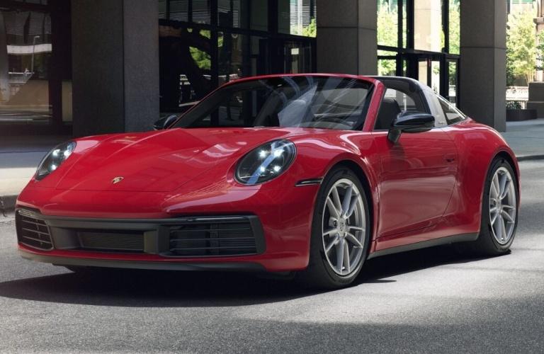 2021 Porsche 911 Targa 4 Carmine Red