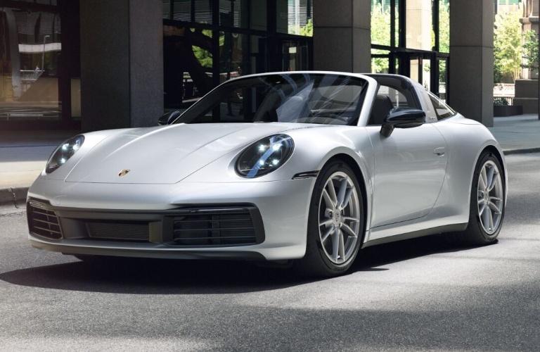 2021 Porsche 911 Targa 4 Dolomite Silver Metallic
