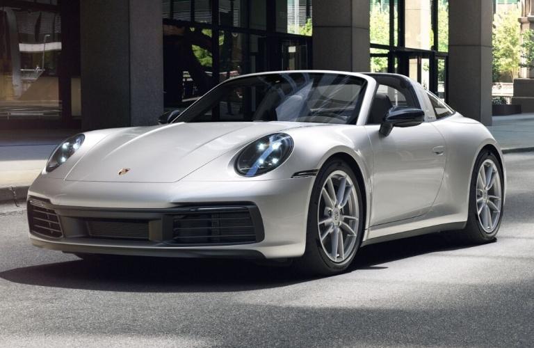 2021 Porsche 911 Targa 4 GT Silver Metallic