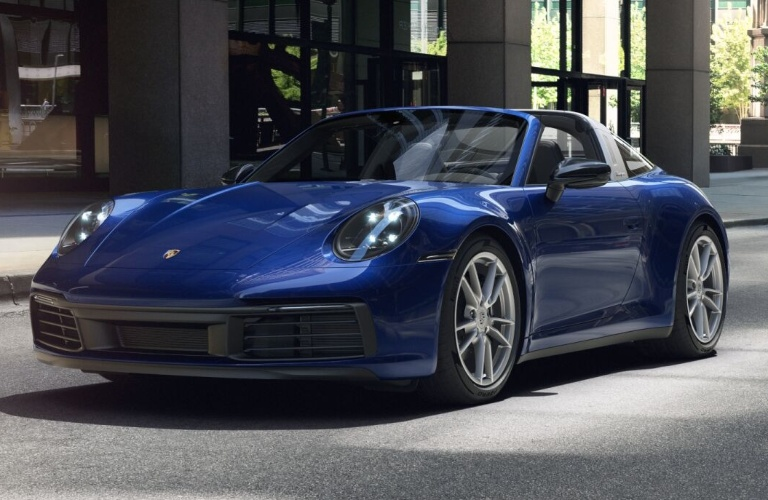 2021 Porsche 911 Targa 4 Gentian Blue Metallic