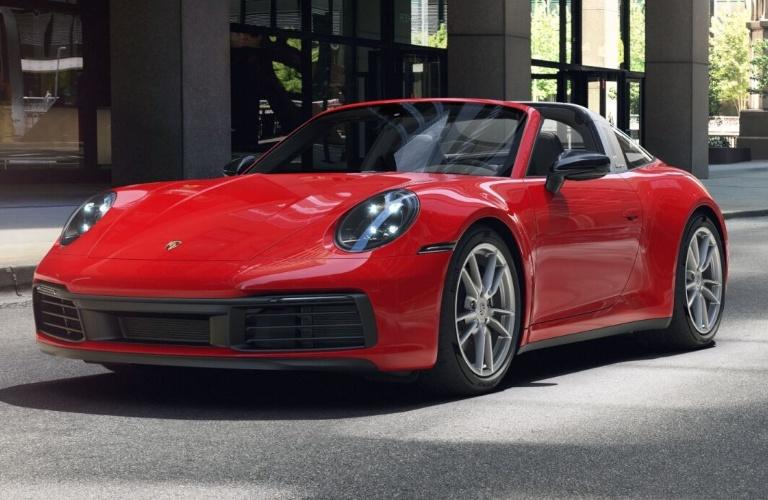 2021 Porsche 911 Targa 4 Guards Red