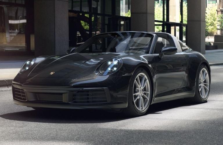 2021 Porsche 911 Targa 4 Jet Black Metallic
