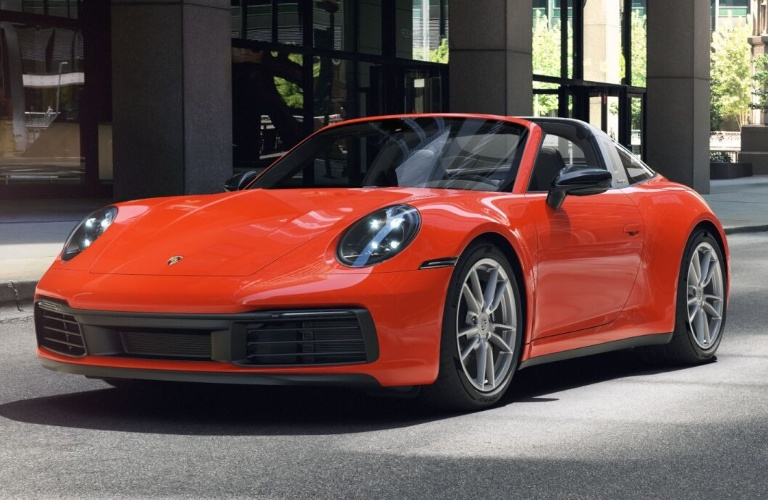 2021 Porsche 911 Targa 4 Lava Orange