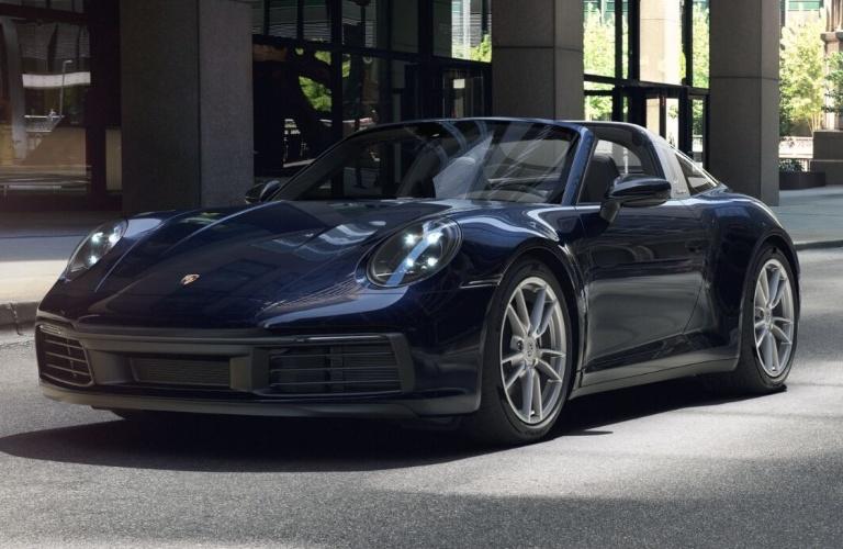 2021 Porsche 911 Targa 4 Night Blue Metallic