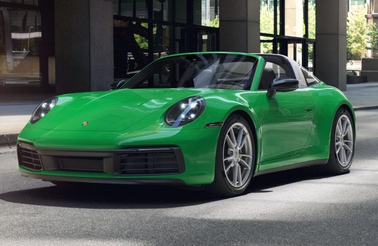 2021 Porsche 911 Targa 4 Python Green