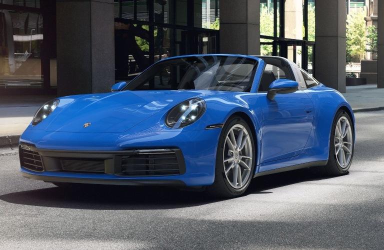 2021 Porsche 911 Targa 4 Shark Blue