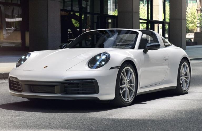 2021 Porsche 911 Targa 4 Carrara White Metallic
