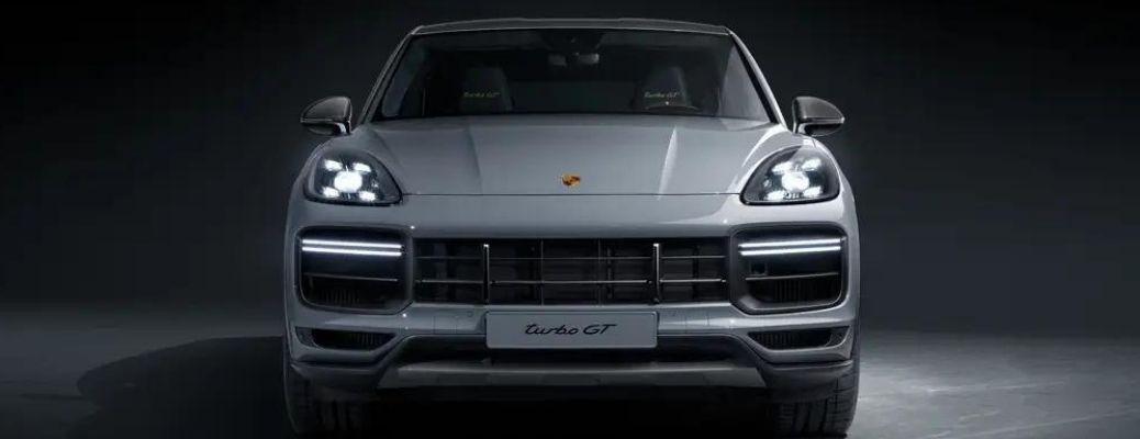 2022 Porsche Cayenne Turbo GT front view
