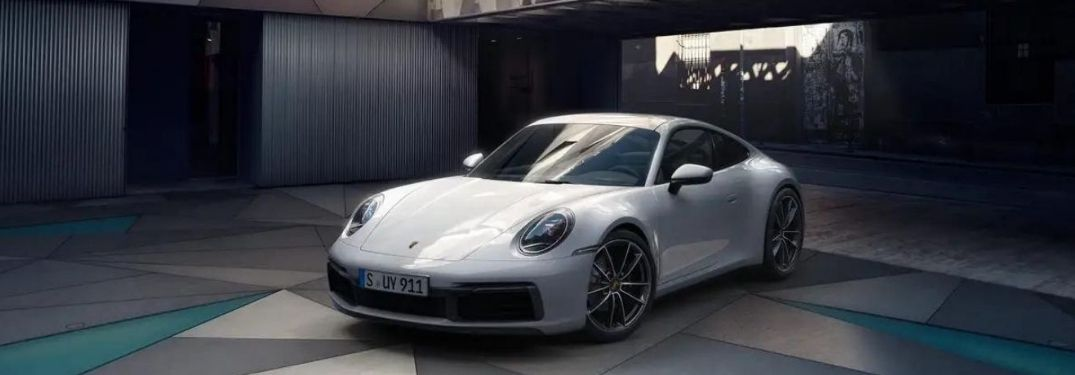 2022 Porsche Carrera 911 GTS front and side view