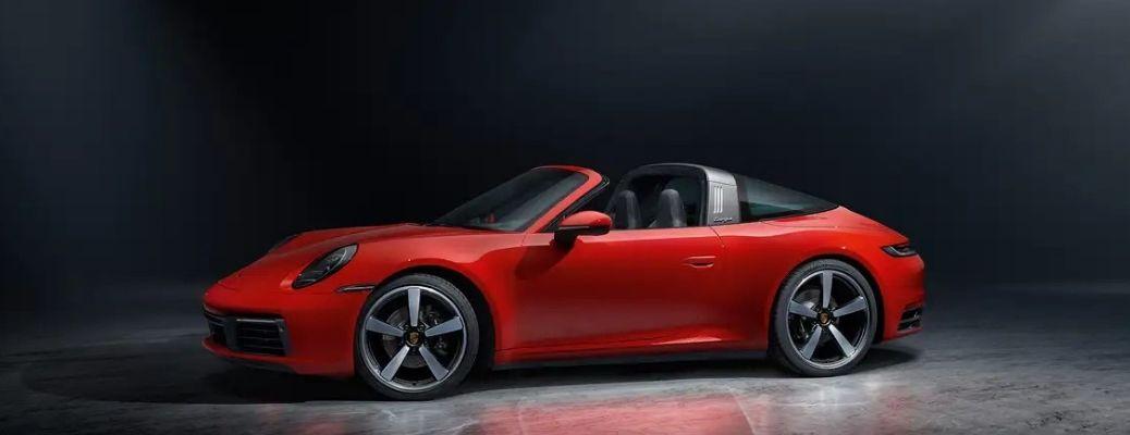 2022 Porsche 911 Carrera GTS exterior side look