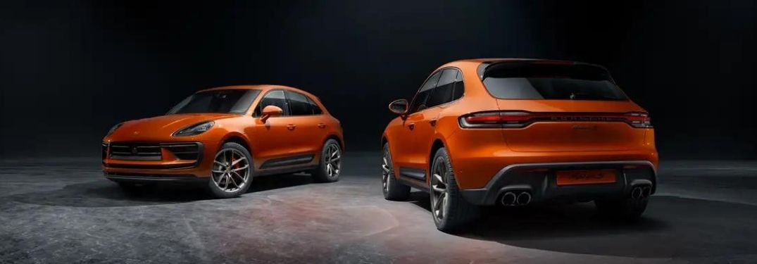 2022 Porsche Macan front and back