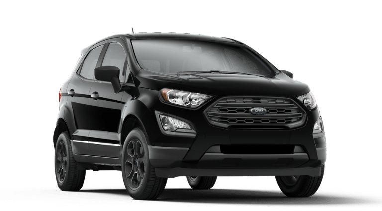 2019 Ford EcoSport black front view