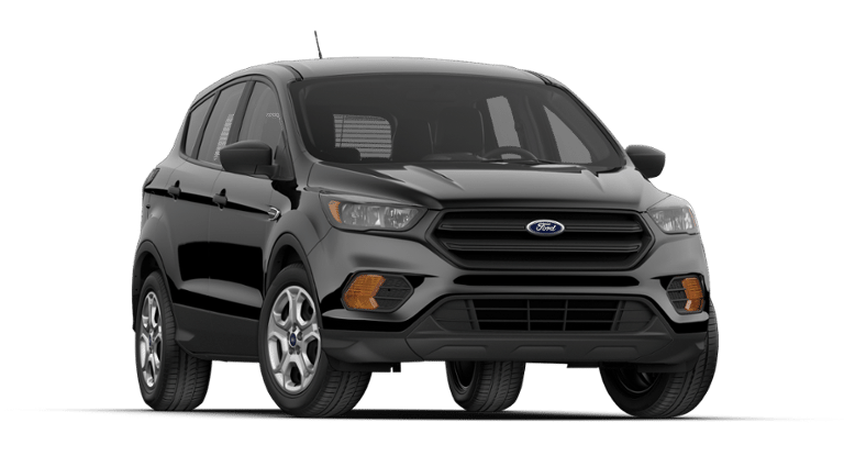 2019 Ford Escape black front view