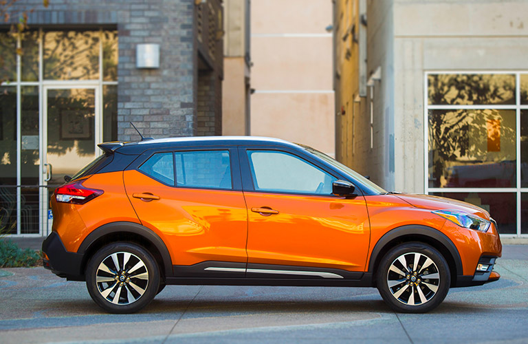 2018 Nissan Kicks side profile