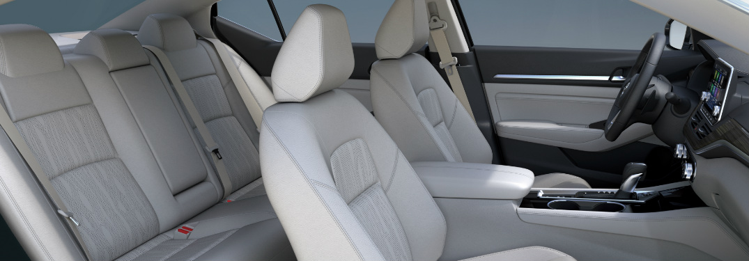 2019 Nissan Altima front and rear seats